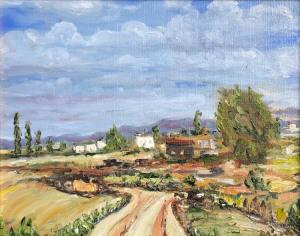 "08 - ""Tuscany"" by Dan Abenaim - Oil - 8""x10"" - $195  - contact dabenaim1@gmail.com"