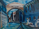 "11 - ""Romantic Venezia"" by Caroline McGrane - Oil  - 18""x24"" - NFS - contact carolinemcgrane47@gmail.com"