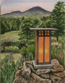 "47 - ""Lantern"" by Patricia O'Connor - Watercolor - 20""x16"" - $150  - contact ptoco@msn.com"