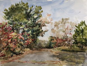 """67 - """"Nahant"""" by Anne Rogers - Watercolor - 9""""x12"""" - $100  - contact acrogers1844@hotmail.com"""