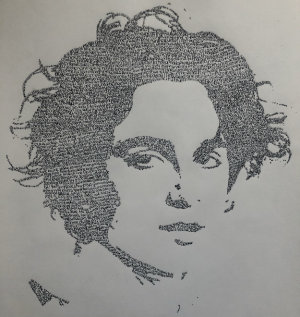 35B. Timothee Chalamet Micrograph by Grace McKrell