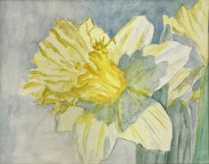 39A. Daffodil by Ann Leskiw