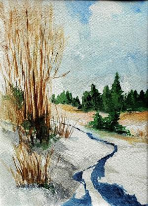 2B. Snow Melt by Beth Aaronson