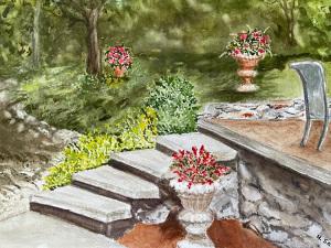 5A. Evergreen Garden by Hedy Sanni