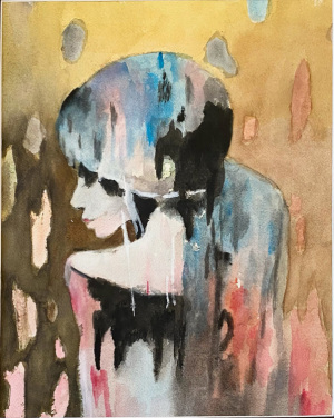 22A. Abstract Lady by Maryann Trudeau