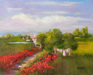 42A. Magnificent Morning by Jeanette Corbett
