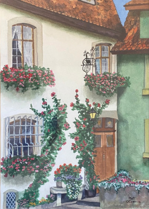 1B. Rorrenburg Windowboxes by Patricia O'Connor