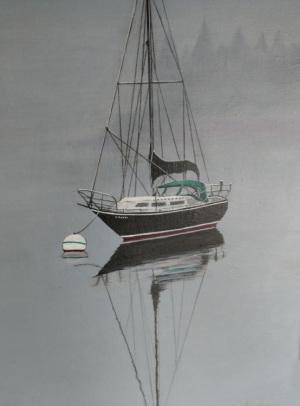 Misty Morning, Bar Harbor