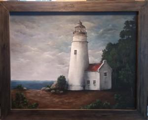 Weathered Lighthouse