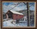 Winter Covered Bridge