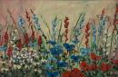 """""""Wildflowers 1""""  12""""x18""""  Acrylic"""