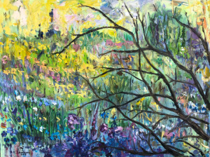 """""""Early spring""""  30""""x40""""  Oil"""